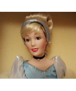 "Franklin Mint Heirloom CINDERELLA Disney Character Porcelain Doll 15"" - $172.80"
