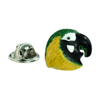 Parrot Head Design Lapel Pin Badge Lapel /tie Pin Badge  with clip for rear