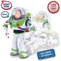 Toy Story 4 - Buzz Lightyear with Interactive Drop-Down Action - $94.46