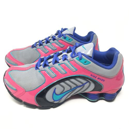 e55e47b06a89 Womens Sz 8.5 Nike Shox Navina Silver Pink and 17 similar items. 12