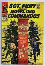 Sgt Fury and His Howling Commandos #48 ORIGINAL Vintage 1967 Marvel Comics - $14.84