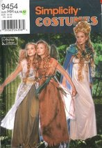 Simplicity 9454 Misses' Fairy Costumes; Sizes 6-12 Bust 32.5 - 36 - $13.72
