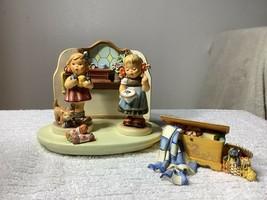 4 Piece Hummel Set.  Quilting Bee, Little Knitter, Bee Hopeful, Small Ho... - $178.20