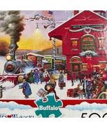 Buffalo Games Wysocki WHISTLE STOP CHRISTMAS 500 St. Puzzle - $11.38