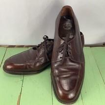 Vintage Florsheim Mens Leather Shoes Style 716268 Size 10E - $59.34