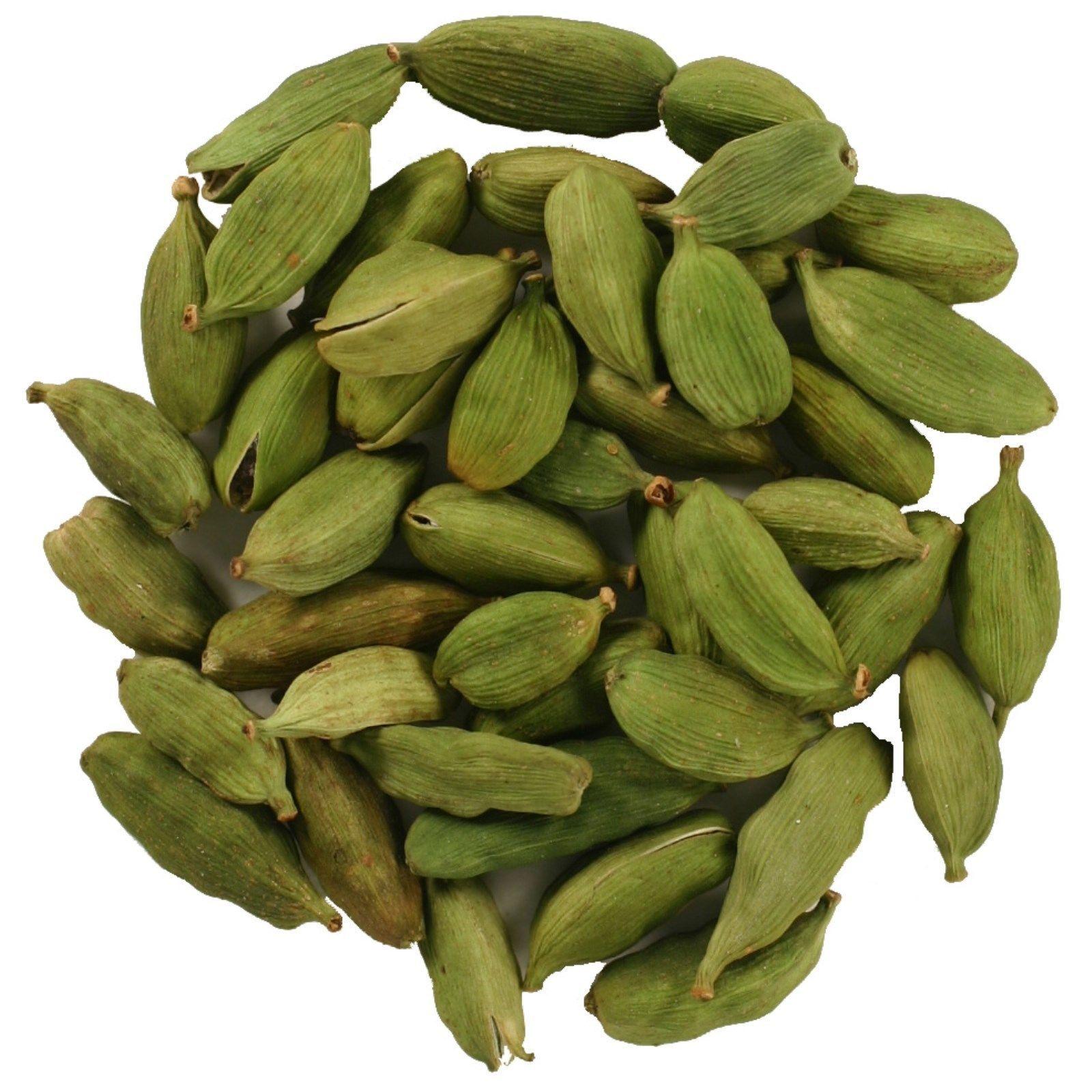 100g 3.5oz WHOLE Green Whole Cardamom Pods Cardamon India FREE SHIPPING.