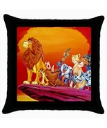 Throw pillow case lion king jungle animals  - $19.50