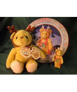 Cherished Teddies.......... A Gift To Go With Holiday Gift Tin - $14.58