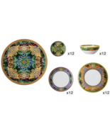 Versace by Rosenthal Set of 49 pcs  Jungle Animalier Plates, Cereal bowl... - $4,679.56