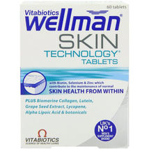 Vitabiotics Wellman Skin Technology - 60 Tablets - $28.90