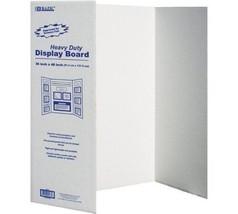 BAZIC Tri-Fold Corrugated Presentation Board, 36 x 48 Inch (3-Pack) - $33.85