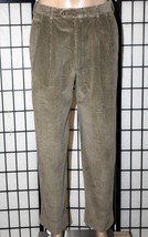 TOMMY HILFIGER Men's 32 x 30 Pleated Front Corduroy Tailored Trousers Pants EUC - $29.98