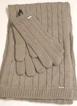Nine West Colorado Scarf & Glove Set,Grey - $27.46