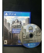 Project Highrise: Architect's Edition (Playstation 4) PS4 - $11.87
