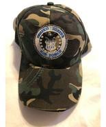 United States Air Forcs Hat Camoflauge Camo USAF Cap Adjustable Excellent - $8.25
