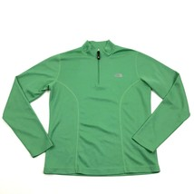 THE NORTH FACE Flight Series 1/4 Zip Mock Dry Fit Polo Long Sleeve Size ... - $12.48