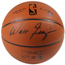 Walt Frazier signed Indoor/Outdoor Basketball (New York Knicks- black si... - $108.95