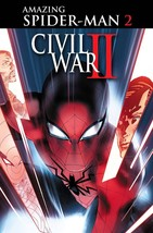 CIVIL WAR II AMAZING SPIDER-MAN  #2 reg cover EST REL DATE 07/13/2016 - $3.99