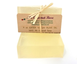 4 Oz Pure Olive Oil Facial Soap Unscented 100% Natural Face Body Glycerin Vegan - $4.00