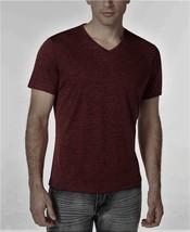 $45 ALFANI V-NECK T-SHIRT, CHINESE EGGPLNT, Size XL - $19.79