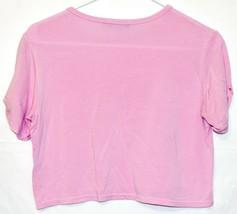 Pretty Little Thing Women's Lavender Pink Purple Crop Top T-Shirt Size 4 image 2