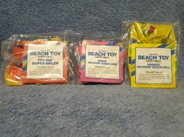1988 McDonald's Beach Toys - Lot of 3 GRIMACE, BIRDIE, SUPER SAILER - $7.99