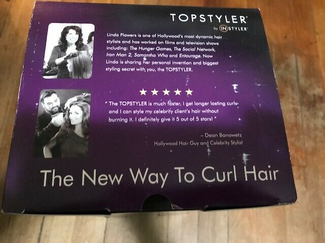 Topstyler by Instyler Heated Ceramic Styling Shells with Case