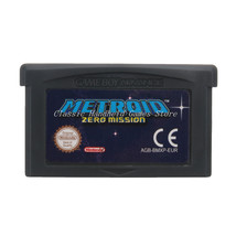 Metroid Zero Mission GBA Game Boy Advance Reproduction Cartridge EU English - $11.99