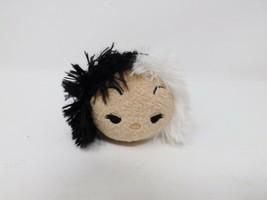 Disney Tsum Tsum Mini Soft Plush Stuffed 101 Dalmations Cruella Deville - $5.99