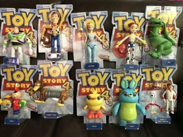 Toy Story 4 Disney Pixar Posable Figure lot of 10 Complete New Forky Woo... - $197.99
