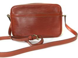 Authentic LOUIS VUITTON Trocadero 24 Brown Epi Leather Shoulder Bag Purs... - $196.02