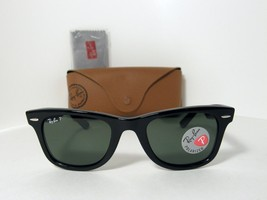 d1e64f93ba7 New Authentic Ray Ban Polarized Sunglasses RB 2140 901 58 Made In Italy .