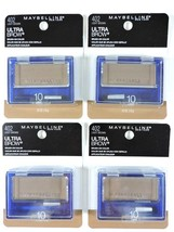 4x Maybelline Ultra-Brow Powder 10 Light Brown Eyebrow Color Makeup 402 New - $29.65
