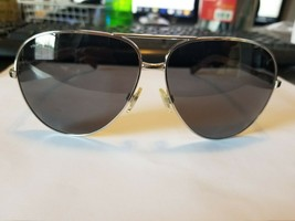 Polarized Ralph Lauren PH 3073 9219/81 Silver Aviator 61mm Men's Sunglas... - $88.11