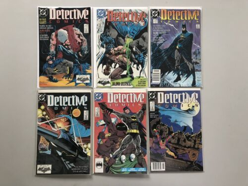 Lot of 12 Detective Comics (1937 1st Series) from #521-603 VF Very Fine