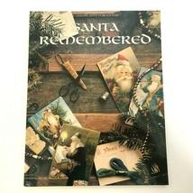 Leisure Arts Santa Remembered Book Christmas 22 Cross Stitch Patterns 19... - $5.99