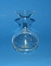 Princess House Vase Crystal New 478 Handblown Handcut 3.75 inch High Her... - $24.24