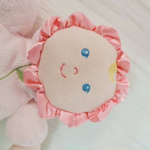 """8"""" Kids Preferred Pink Lovey Baby Doll Plush Rattle Toy Asthma Friendly B350 image 3"""