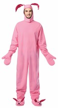 Rasta Imposta Christmas Bunny Suit Pink Adult Mens Halloween Costume GC-... - $62.48
