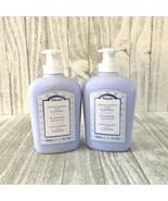 2 PERLIER Lavender liquid hand soap 10.1oz/300ml pump bottles New - $38.60