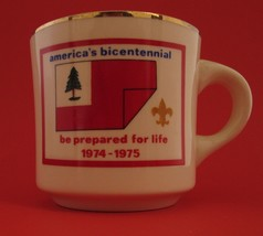 America's Bicentennial Be Prepared for Life 1974-1975 Boy Scouts Coffee ... - $30.68