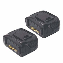 WA3520 Battery for Worx, 2 Pack 20v 4.0Ah Replacement Lithium Battery fo... - $78.99