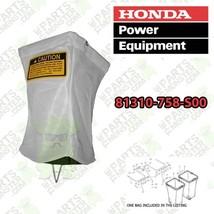 HONDA H2013K1 H3011 H3013H H4013 H4514H H4518H GRASS CATCHER BAG 81310-7... - $67.03