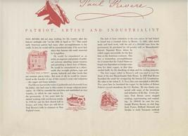 4 Paul Revere's Ride Poem Prints 1942 Revere Copper Henry Wadsworth Long... - $37.62