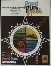 Join the Qward Winning Ford Fun Fleet Ford Fun Seasons 1965 Dealers Brochure - $14.66