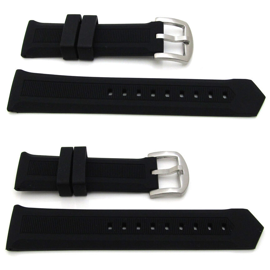 New For TAG HEUER F1 Silicone Rubber Watch Strap 22mm & 24mm Lug band Wriststrap - $20.99