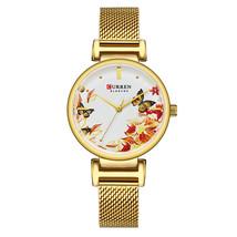 Curren Women's Steel Wrist Watch 9053 (Gold) - $30.00