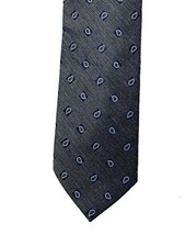Club Room Men's Slim Silk Blend Necktie, Seasonal Pine (Grey) - $12.19