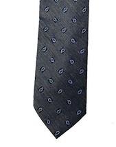Club Room Men's Slim Silk Blend Necktie, Seasonal Pine (Grey) - $12.19