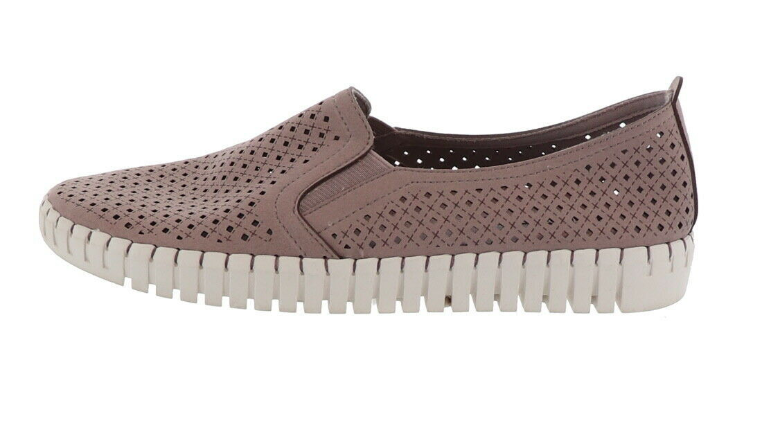 Skechers Perforated Slip-On Shoes Lilac 7.5M NEW A351840